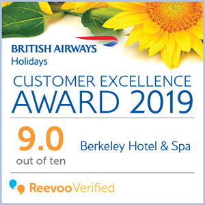 British Airways Holidays - Customer excellence award 2019
