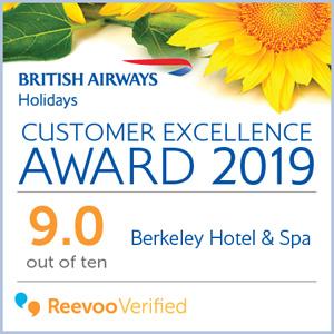 British Airways Holidays - Customer excellence award 2019
