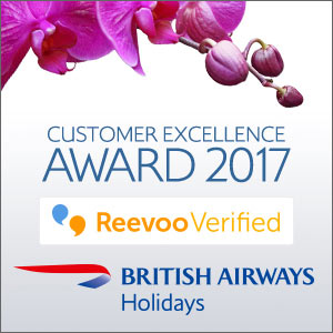 British Airways Holidays - Customer excellence award 2017